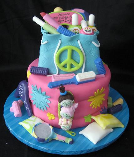 How To Make Sleepover Birthday Cake