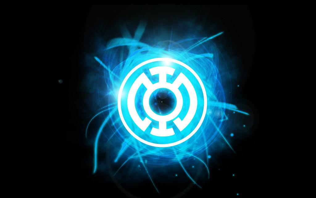 Flash With White Lantern Ring