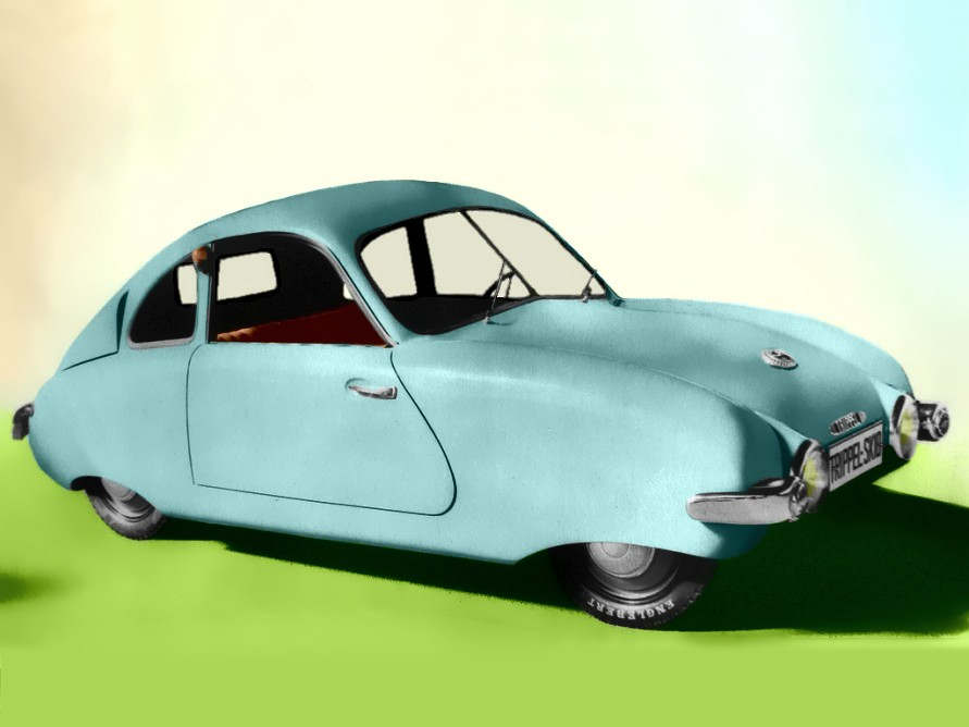 Small Two-seater, Designed By