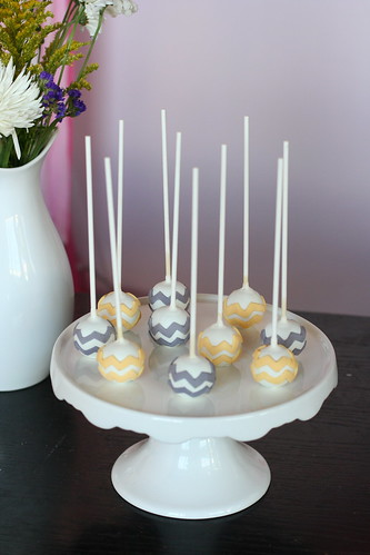 Chevron Cake Pops | by Sweet Lauren Cakes