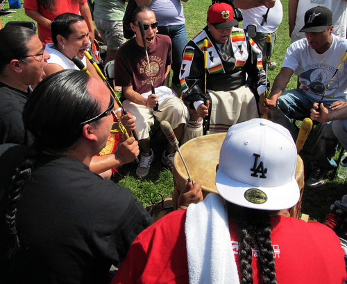 Young Spirit drummers