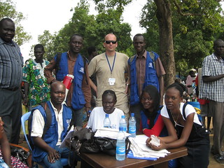 IOM registration team at Juba Port | by UN in South Sudan
