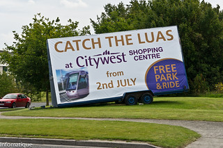 I Got The Luas Tram To Citywest | by infomatique