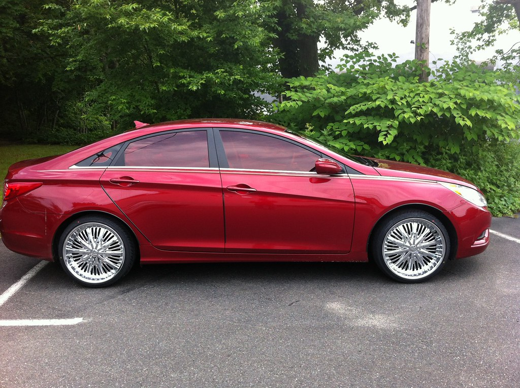 Red Tint Hyundai Sonata Shore Cellular 2 The All