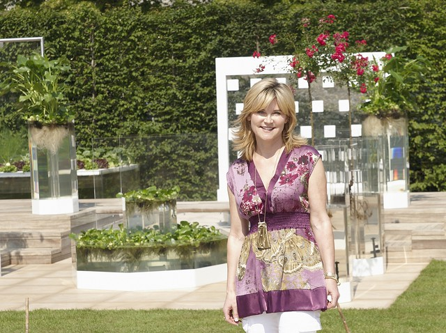 Anthea Turner On The Naked Garden Flickr Photo Sharing