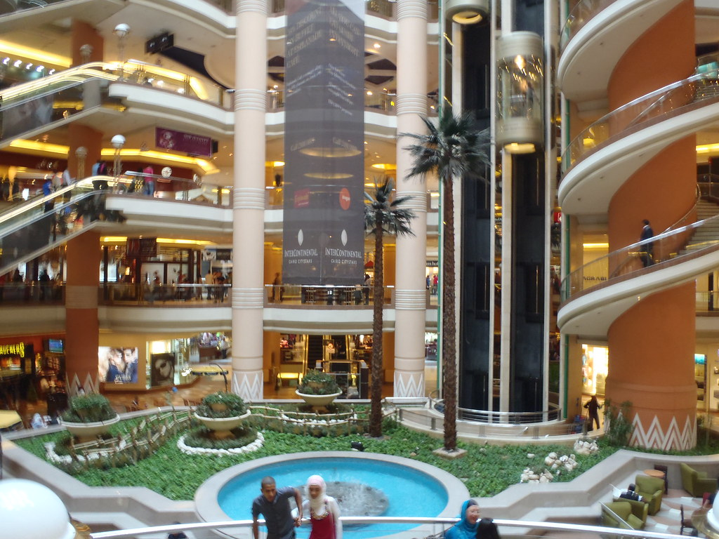 Egypt cairo city stars shopping mega mall mona nesje for Shopping in cairo
