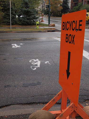 Bicycle Box | by BikeCalgary