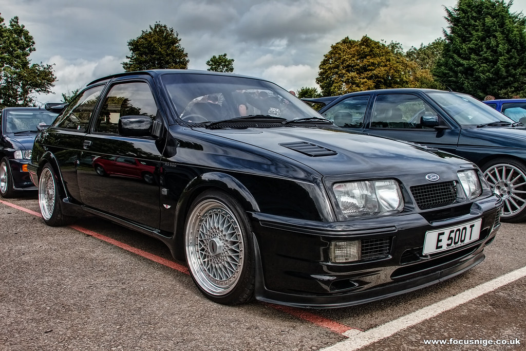 ford sierra cosworth rs500 sierra cosworth rs500 flickr. Black Bedroom Furniture Sets. Home Design Ideas