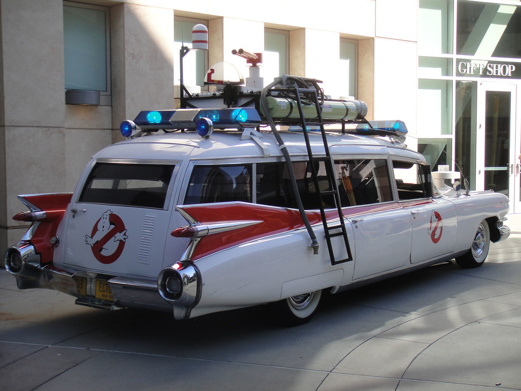 Take Two® | Reimagined Ecto-1 squeals into Ghostbusters reboot ...