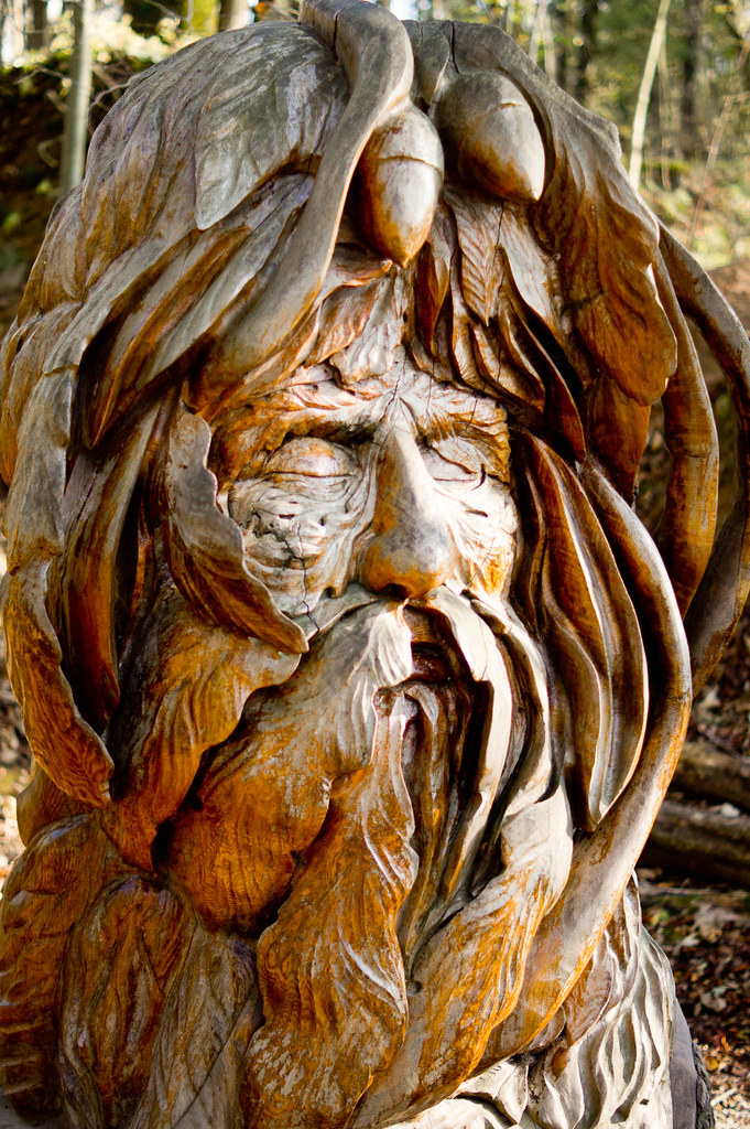 Green man another carving at crich fated