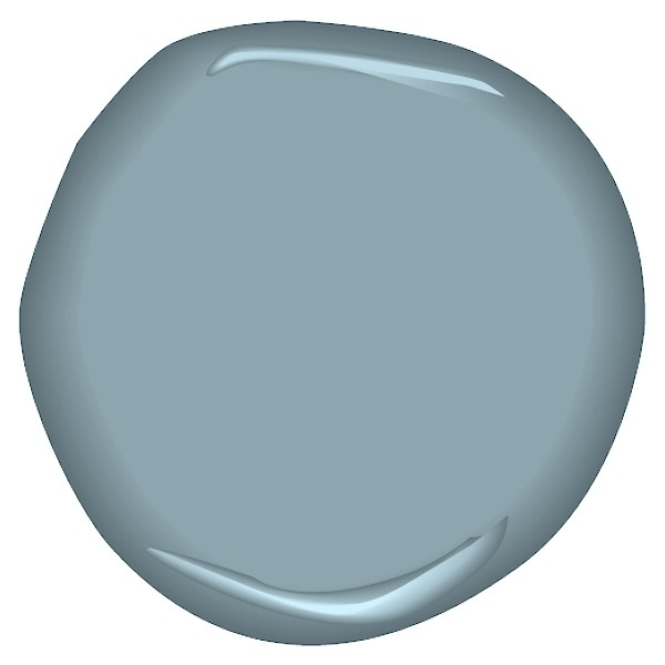 Dusty cornflower csp 605 imagine yourself in a wild for Benjamin moore french white