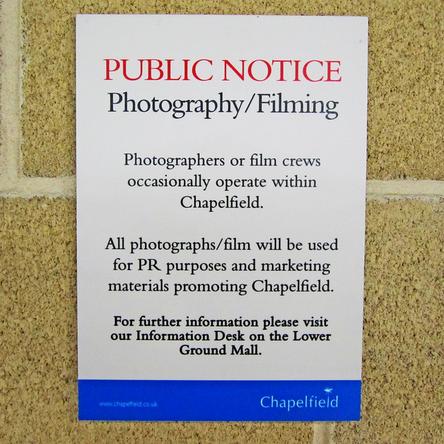 Public Notice Photography Filming Flickr Photo Sharing