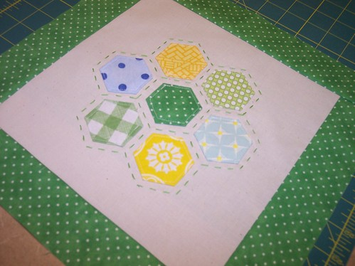 3x6 Bee - 3rd Qtr - Hive 18 - for Mikibubb | by Around the Quilt Block