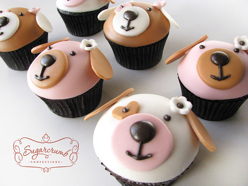 Puppy Cupcakes | by Sugarcrumb Confections