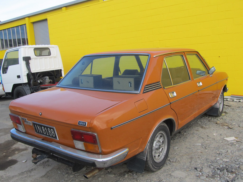 1977 Fiat 132 GLS 1800 Saloon | IN8188 My spot of the day ...
