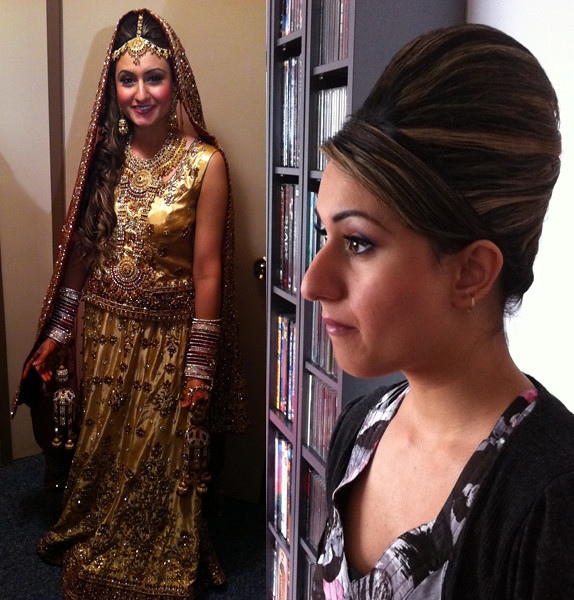 indian bridal hair style indian bridal hairstyle big beehive flickr 6138