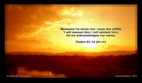 Psalm 91 14 Quot Because He Loves Me Quot Says The Lord Quot I