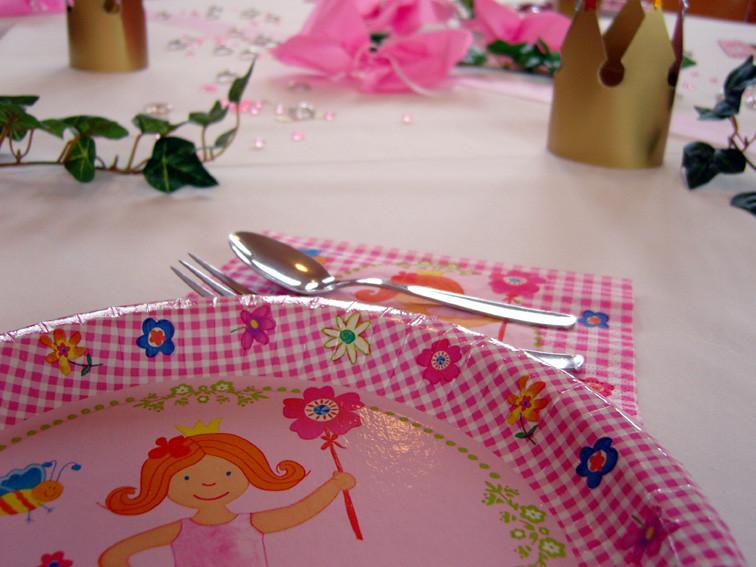 Prinzessinnen Kindergeburtstag Tischdeko Princess Birthd Flickr