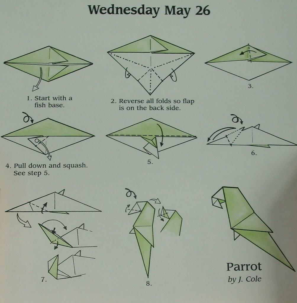 parrot instructions jo gemmell flickr rh flickr com origami parrot instructions diagrams origami parrot instructions pdf