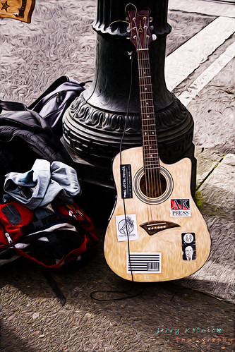 Guitar on Portland Street | by Jerry Kolnick