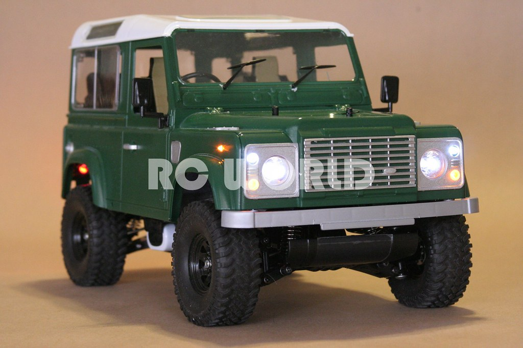 tamiya rc land rover defender 90 flickr. Black Bedroom Furniture Sets. Home Design Ideas