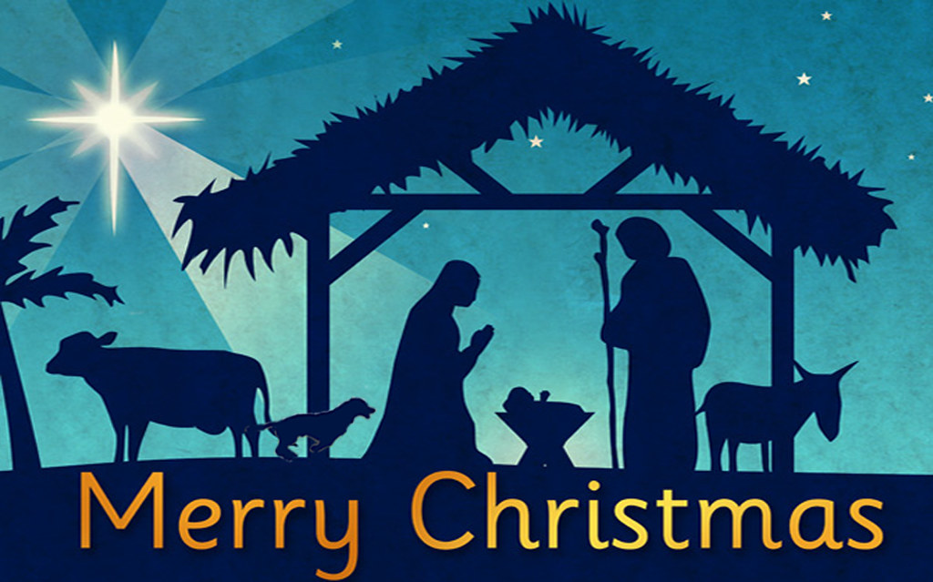 Nativity Christmas Card | I\'m really new to Photoshop and am… | Flickr