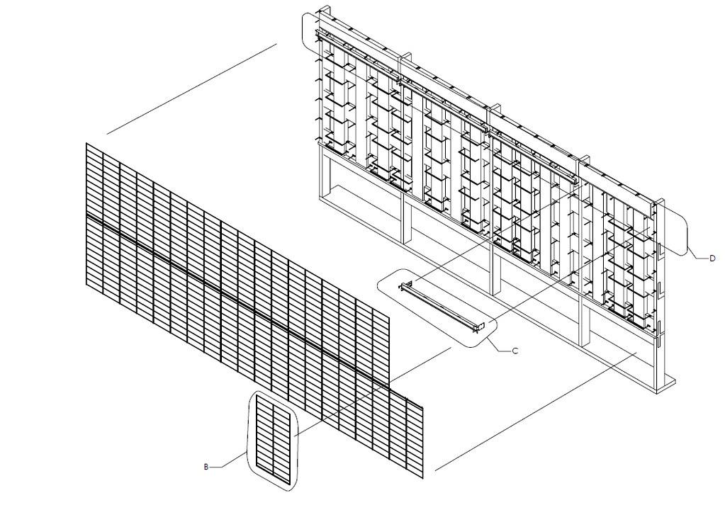 Progress Photo Building Ned Kahn S Kinetic Facade In Calg