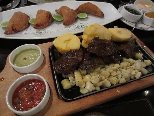 Comida de Lima / Anticucho, Potato, Corn, Empanadas | Flickr