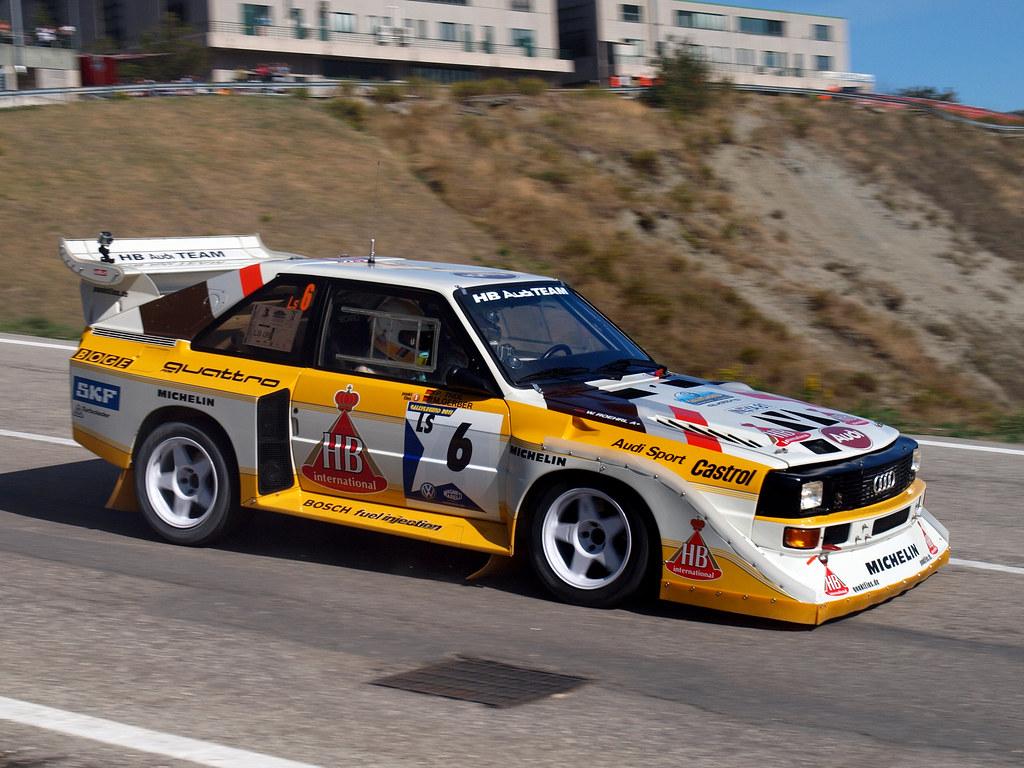 audi gruppo b 1986 al 9 rally legend 2011 davideans. Black Bedroom Furniture Sets. Home Design Ideas
