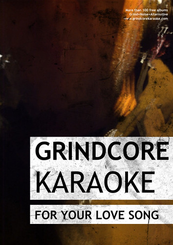 Grindcore Karaoke Flyer | by No More Bob