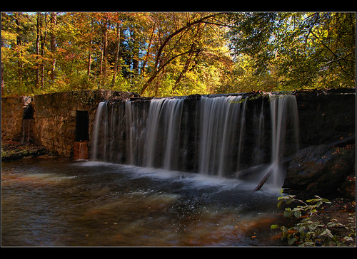 Taylors Mill Dam Falls, Taylors SC | by Jerry Spain