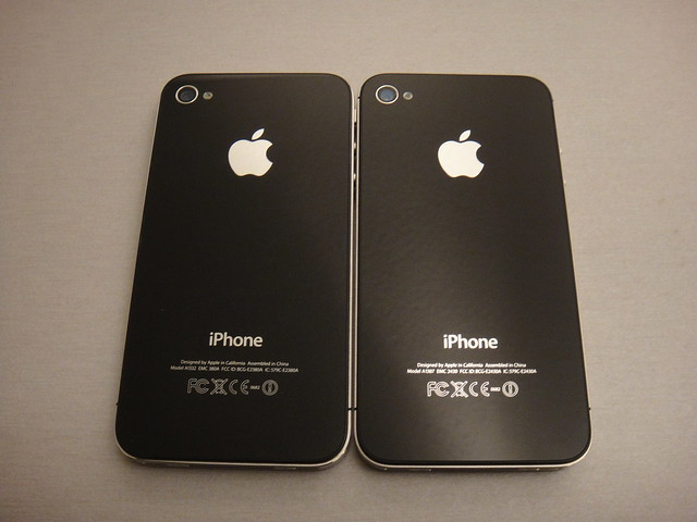 iPhone 4 vs. iPhone 4S | Flickr - Photo Sharing!