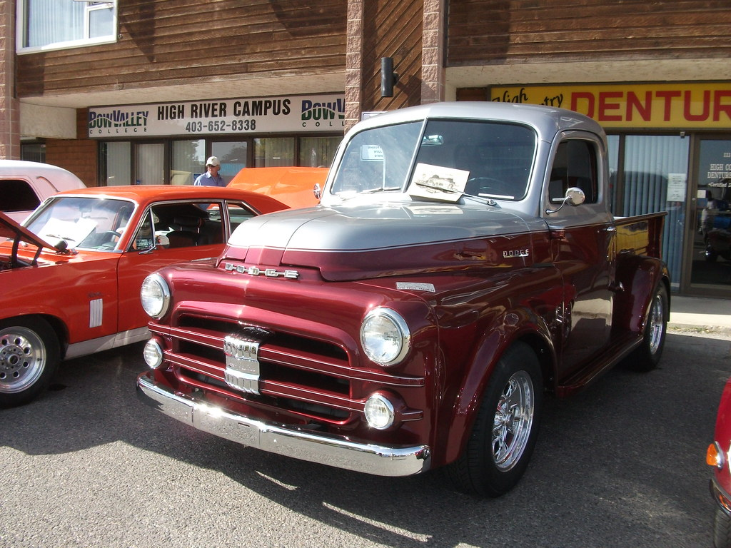 1952 Dodge Truck 1952 Dodge Truck With Two Tone Paint