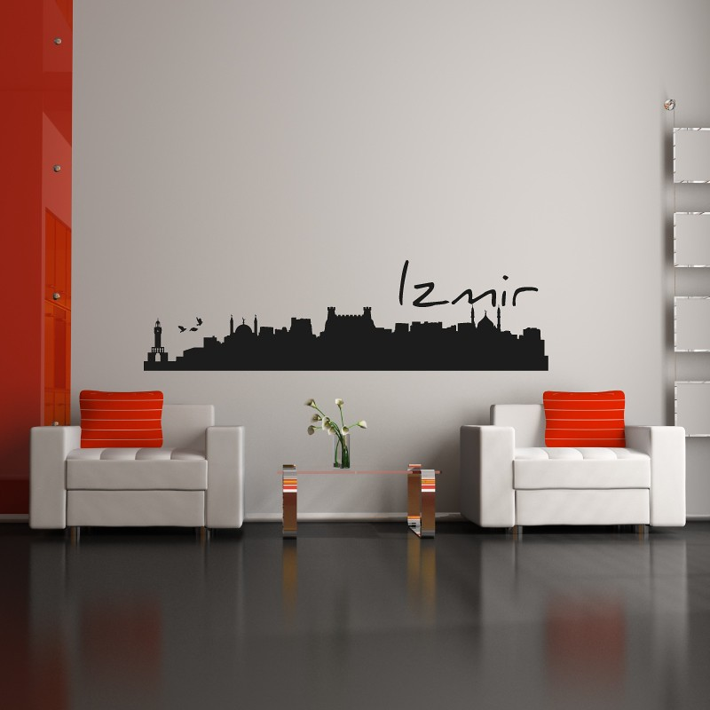 Izmir Skyline Islam And Style Wandtattoos Duvarsticker Flickr