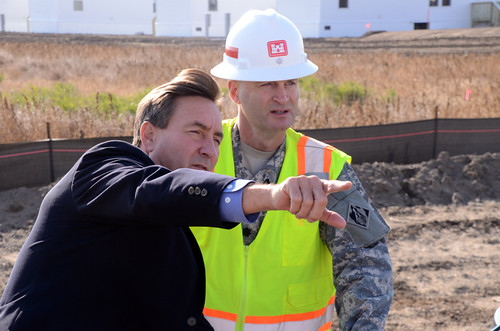 North Dakota Congressman receives temporary housing construction update from USACE | by USACE HQ