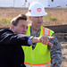 North Dakota Congressman receives temporary housing construction update from USACE