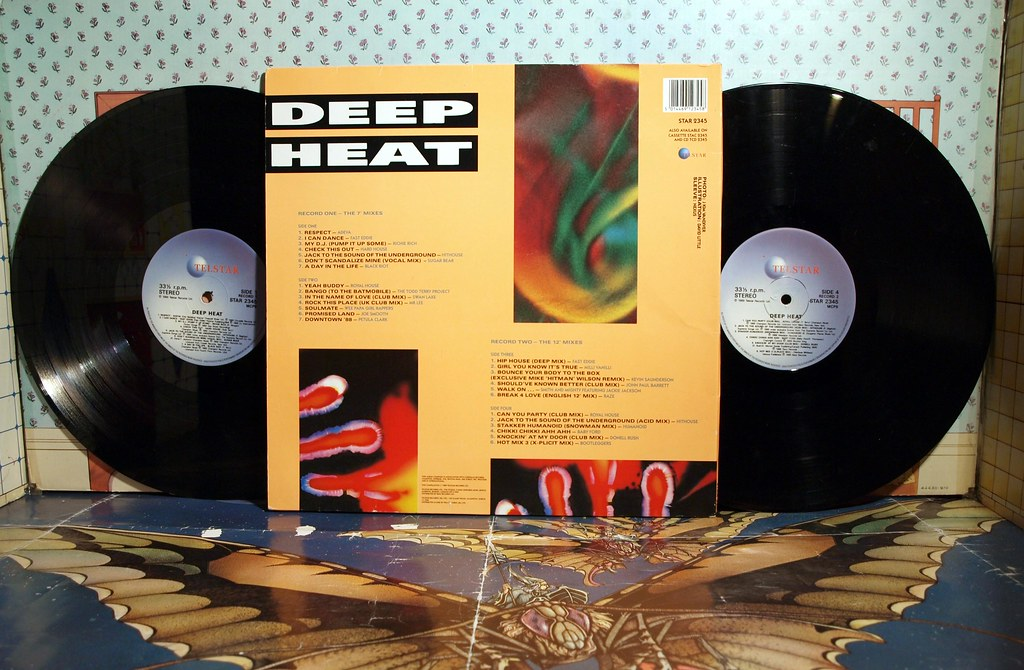 Deep heat 26 hottest house hits badgreeb records flickr for Deep house hits