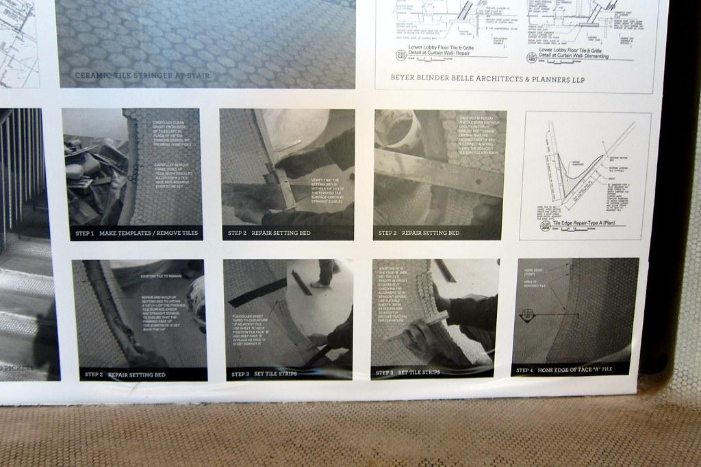 Nyc Jfk Airport Twa Flight Center Ceramic Tile Repair Flickr