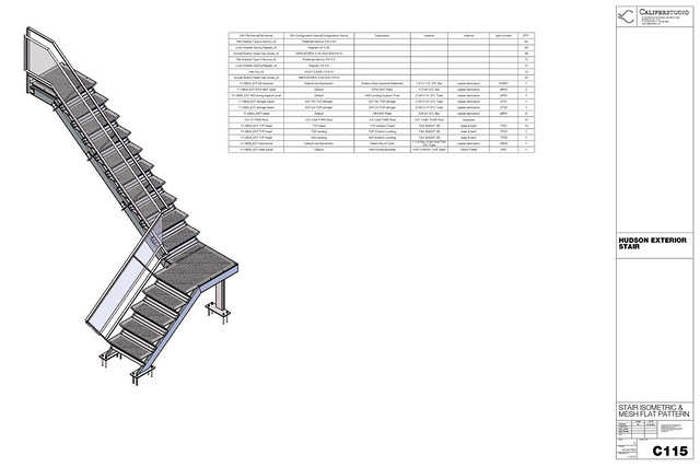 exterior stair V01 perf treads_C112 | Flickr - Photo Sharing!