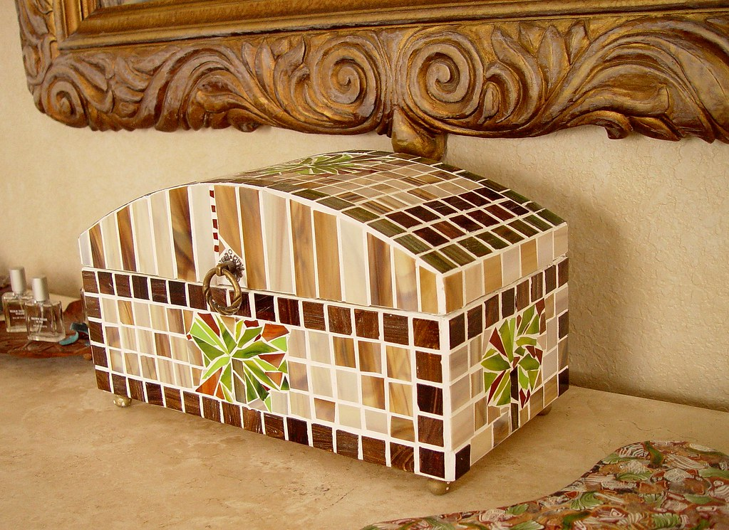 Mosaic Jewelry Box I Made This Jewelry Box For My