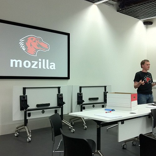 Working the way Mozilla works- session at #mozfest | by SylwiaPresleyArt
