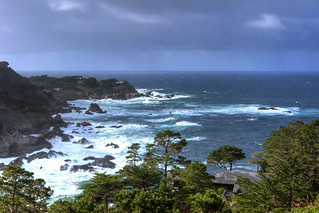 Pacific Ocean View from the Tickle Pink Inn, Carmel Highlands, CA | by kentsmith9