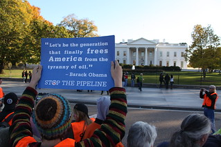 November 6th Tar Sands Action Surrounds White House | by tarsandsaction