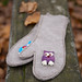 Recycled mittens D.I.Y. project