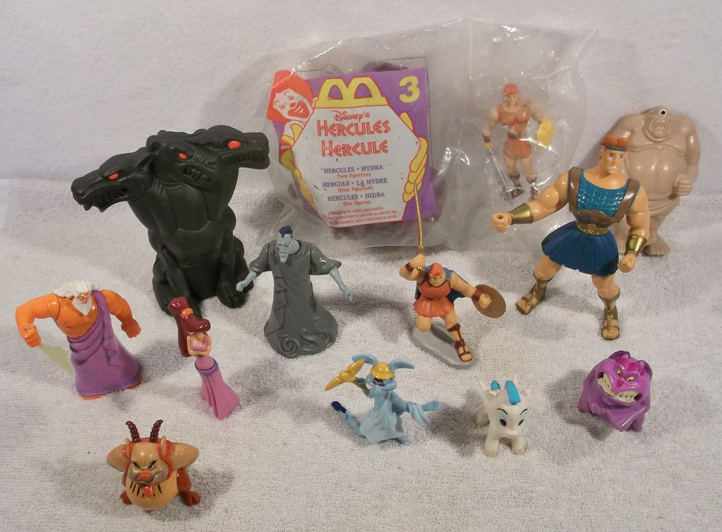 Toys For Hercules : Lot of disney hercules toys please visit our toy to