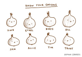 know your onions | by gemma correll