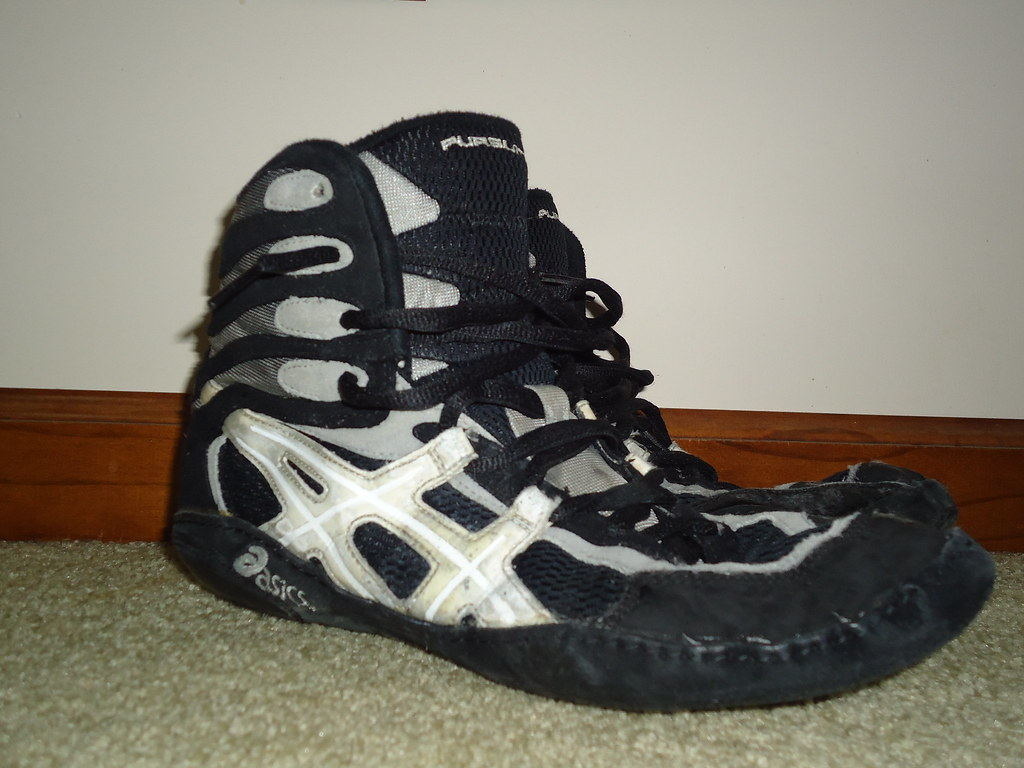 RARE Asics pursuit 2 wrestling shoes | no rips, hole or anyt… | Flickr