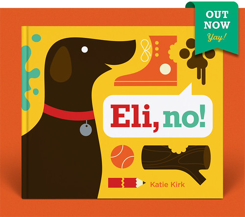 Eli, no! Out now! Yay! | by Katie Kirk