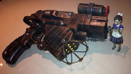 ... Nerf Vortex Proton BioShock gun mod Big Daddy trubute | by Nerfenstein