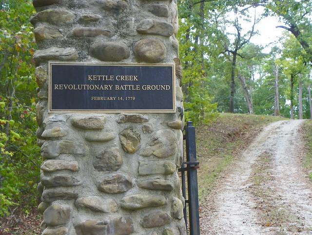 Kettle Creek Revolutionary Battle Ground Entrance Flickr
